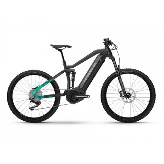 Haibike AllMtn 1 i630Wh 11-V Deore² 21 HB YSTS antracite/turchese T.L