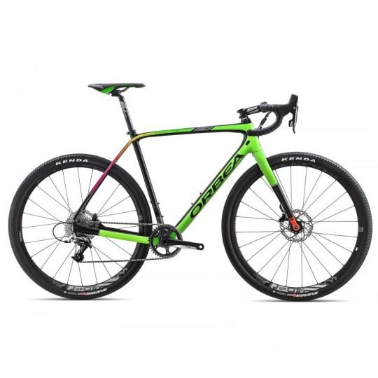 J120 Orbea Strada Gravel Terra M31 D18 Verde Nero BICI TEST Tg M 55
