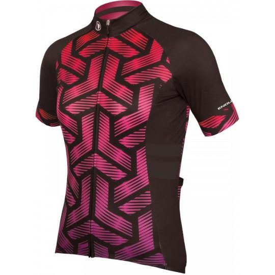 E6116CE/5 Endura maglia Triweave Graphics - donna, corta, rosa E6116CE TG. L