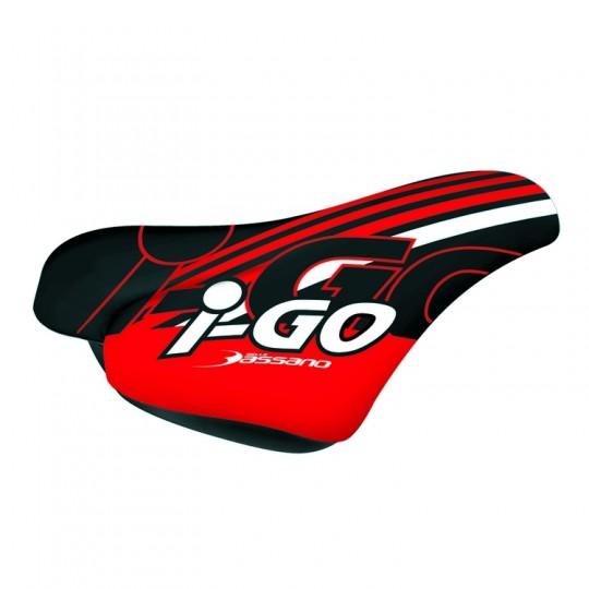 442607003 RMS Sella Bambino I-Go Nero/Rosso