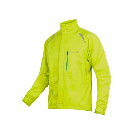 E9063 Endura Gridlock II Waterproof Jacket HiVizYellow