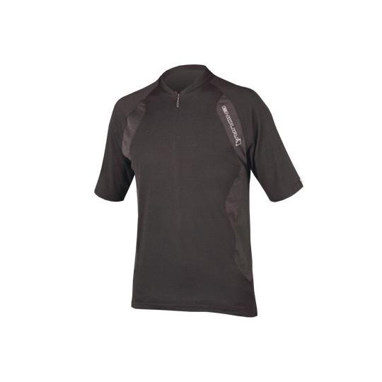 E8052 Endura SingleTrack Lite S/S Jersey Black
