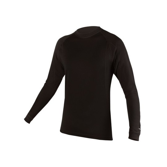 E3029 Endura BaaBaa Merino L/S Baselayer BlackNone