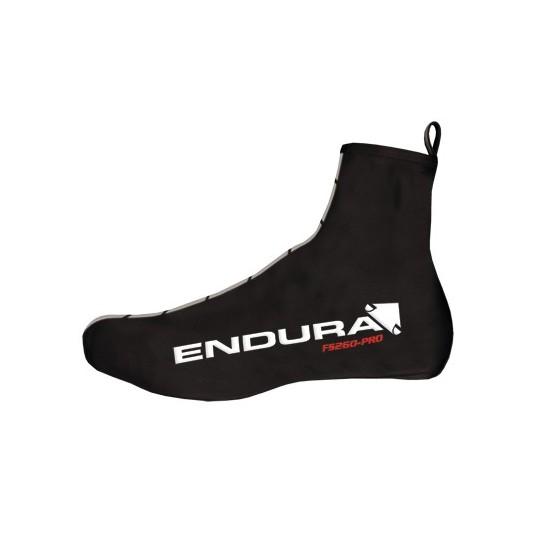 E1021 Endura FS260-Pro Lycra Overshoe Black