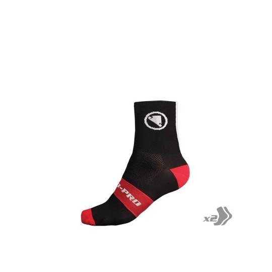 E0115 Endura FS260-Pro Sock (Twin Pack) Black