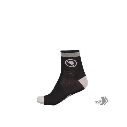 E0114 Endura Luminite Sock (Twin Pack) HiVizGreen