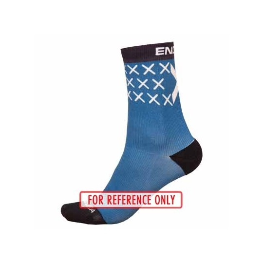 E1194 Endura Scotland Flag Sock (Single) Blue